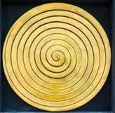Escultura da ondinha do ouro Imagens de Stock