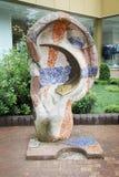 Escultura da orelha, que ouvem seus sonhos Imagem de Stock