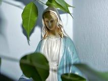 Escultura da Virgem Maria Imagem de Stock Royalty Free