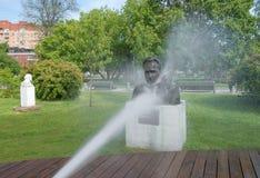Escultura das lavagens Fotos de Stock Royalty Free