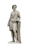 Escultura de Adonis Fotos de archivo