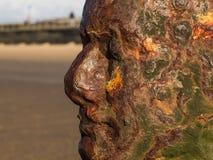 Escultura de Antony Gormley Imagenes de archivo