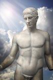 Escultura de Apollo, arte grega clássica Foto de Stock Royalty Free
