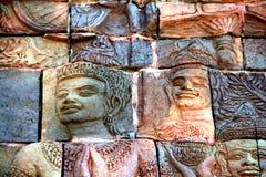 Escultura de arcilla de dios Imagen de archivo