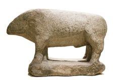Escultura de Avila Verraco que pertence aos povos de Vettones Imagem de Stock Royalty Free
