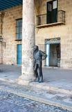 Escultura de bronce Fotografía de archivo