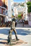 Escultura de bronce Fotos de archivo