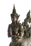 Escultura de bronce del arte tailandés del estilo del ángulo Imagen de archivo