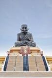 Escultura de buddha del monje en el hin de hua, Tailandia Foto de archivo libre de regalías