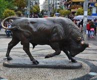 Escultura de Bull Fotografía de archivo