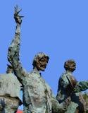 Escultura de Caragealiana em Bucareste, Romênia Imagens de Stock Royalty Free