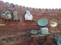 Escultura de cerámica Fotografía de archivo libre de regalías