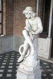 Escultura de Christopher Columbus Foto de archivo libre de regalías