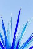 Escultura de cristal grande Foto de archivo libre de regalías