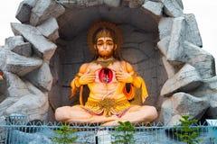 Escultura de dios hindú Hanuman Imagenes de archivo