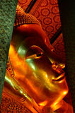 Escultura de encontro de buddha foto de stock royalty free