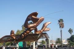 Escultura de Gambrinus, Barcelona Fotos de archivo