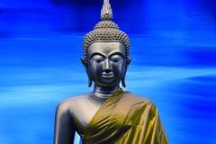 Escultura de Gautama Buddha fotografia de stock royalty free