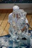 Escultura de gelo Imagem de Stock Royalty Free