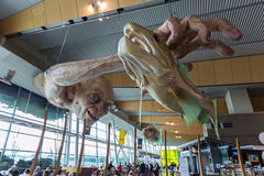 Escultura de Gollum Fotos de Stock Royalty Free