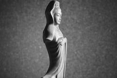 Escultura de Guan Yin /Guanshiyin do Bodhisattva/de Avalokitasvara Fotografia de Stock Royalty Free