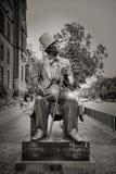 Escultura de Hans Christian Andersen Fotografía de archivo