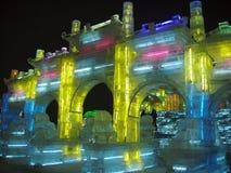 Escultura de hielo Fotos de archivo