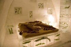 Escultura de hielo Imágenes de archivo libres de regalías