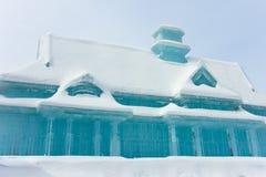 Escultura de hielo Foto de archivo libre de regalías