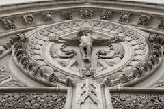 Escultura de Jesús de St Florian Church imagenes de archivo