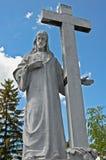 Escultura de Jesus Imagem de Stock