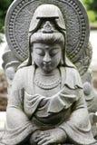 Escultura de Kwan Yin da deusa Imagens de Stock Royalty Free
