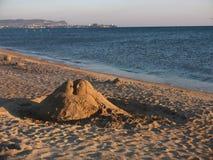 Escultura de la arena Imagen de archivo libre de regalías