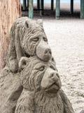 Escultura de la arena Fotos de archivo libres de regalías
