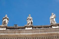 Escultura de la azotea Foto de archivo libre de regalías