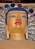 Escultura de la cabeza de Buda Fotos de archivo