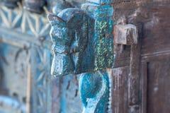 Escultura de la cabeza de caballo Imagen de archivo