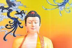 Escultura de la deidad china Fotografía de archivo libre de regalías