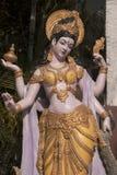 Escultura de la diosa Imagen de archivo libre de regalías