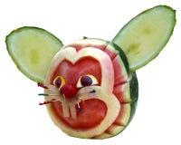 Escultura de la fruta Imagen de archivo