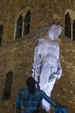 Escultura de la fuente de Neptuno Imagen de archivo libre de regalías