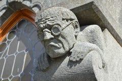 Escultura de la gárgola fotografía de archivo
