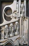 Escultura de la hora Giger Fotografía de archivo