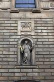 Escultura de la iglesia de St Francis de Assisi imágenes de archivo libres de regalías