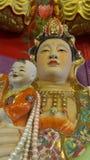 Escultura de la madre y del niño Imagen de archivo