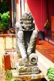 Escultura de la muñeca de Bali Imagenes de archivo