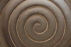 Escultura de la ondulación Foto de archivo libre de regalías