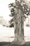 Escultura 4 de la religión imagenes de archivo