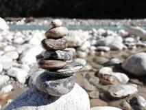 Escultura de la roca fotografía de archivo libre de regalías