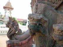 Escultura de la serpiente Imagenes de archivo